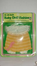 "1985 Baby Doll Fashions 16-18"" - Toy Time"