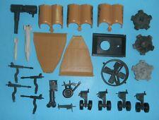 Lot 1986 GI Joe Tomahawk Helicopter Parts Pieces Accessories Propeller Mount Fan