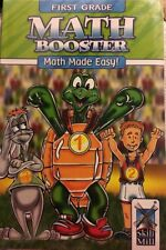 Skill Mill First Grade Booster Books Math,Reading,Subtraction & Phonics