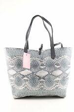 BETTY BARCLAY Schultertasche hellgrau-weiß Animalmuster Business-Look Damen Bag