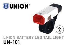 MARWI UNION LED BIKE HEADLAMP UN-101 LI-ION USB RECHARGEABLE BATTERY REARLIGHT
