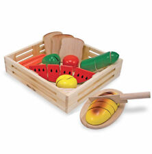 Melissa & Doug Cutting Food Play Set #487 Brand New