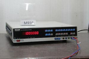 ENERTEC SCHLUMBERGER 7060 MULTIMETER 6.1/2d # M916