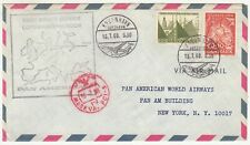 Denmark: Pan American First Flight Cover, Copenhagen to Moscow, 16 July 1968
