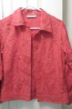 Birch Hill Petite Orange jacket blazer PP linen/rayon