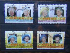 British Virgin Islands 1985 Life & Times of Queen Elizabeth Queen Mother Used