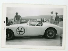 MGA FP Duncan Black  driver SCCA Cumberland Cup Vintage racing  car photo
