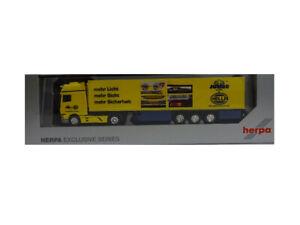 Herpa 943437 DAF XF SSC Kühlkoffer Sattelzug Heide Logistik 1:87 #2 Neu