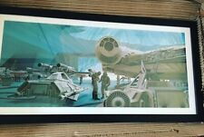 Star Wars empire strikes back Ralph Mcquarrie Portfolio 1980 Print Falcon ESB