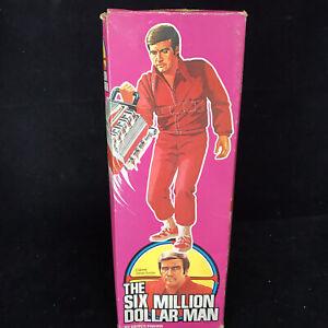 Vintage Kenner Six Million Dollar Man Original BOX ONLY Denys Fisher