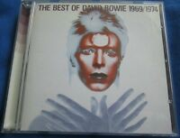 David Bowie - The Best Of David Bowie 1969/1974 - UK CD Album - 20 Great Tracks
