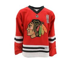 Chicago Blackhawks Official Nhl Reebok Apparel Kids Youth Size Jersey New Tags