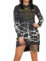 Yakuza Damen Shirt Damenshirt Hoodie Longsleeve Kapuzenshirt Longshirt GLSB14163