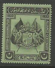 Bahawalpur 1933 Flags MNH (8cqw)