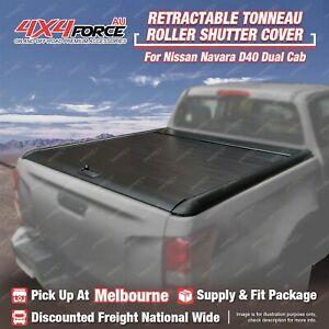 Retractable Tonneau Cover Roller Lid Shutter for Nissan Navara D40 MEL Stock