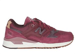 New Balance 530 90'S Ceremonial Women's Running Shoes in Sedona Red W530CEA