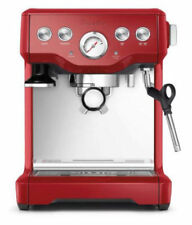 Breville THE INFUSER BES840 Manual Espresso Machine (Cranberry Red)