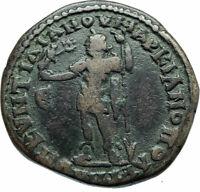 CARACALLA & JULIA DOMNA Marcianopolis Original Ancient 198AD Roman Coin i78843
