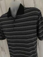 Nike Golf Polo Dri Fit Shirt Mens Size L Large Polyester [A-1105]
