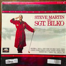Sgt. Bilko / Letterboxed -  Laserdisc Buy 6 for free shipping