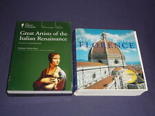 Teaching Co Great Courses DVDs      GREAT ARTISTS of ITALIAN RENAISSANCE + bonus