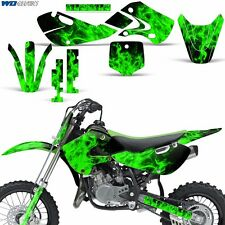 Decal Graphics Kit Kawasaki KLX110 KX65 Dirtbike MX Motocross 2002-2009 XX ICE