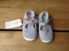 Mothercare Girls Grey Marl Shoes BNWT