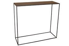 CALEIDO Konsolentisch Beistelltisch Tisch Sideboard MALI Eisen Metallplatte