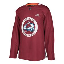 Colorado Avalanche NHL Adidas Men's Maroon Authentic Practice Team Jersey