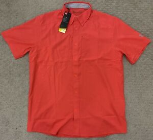 Under Armour UA Men's Heatgear Loose Fit Tide Chaser 2.0 Fishing Shirt Large