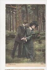 What A Tease [J Welch 2654] Vintage Postcard 789a