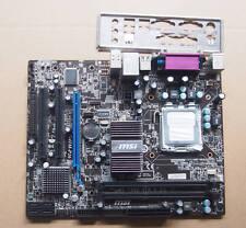 MSI G41M-P26 intel G41 Motherboard w/ IO shield LGA775 775 DDR3 mATX LPT PCIEX16