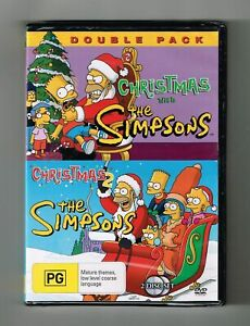 The Simpsons - Christmas 1 & 2 Double Pack Dvd 2-Disc Set - Brand New & Sealed