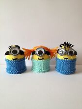 Minions œuf confortable Knitting Pattern * NOUVEAU * Convient pour les débutants