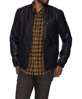 Brand New Levis Faux Leather Depot Jacket Bomber
