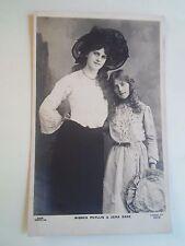 Vintage Real Photo Postcard PHYLLIS DARE 2212 Franked+Stamped 1908