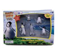Happy Feet Two Series 1 Figurine Set Toys Erik Mumble Gloria Lombardo Raul NEW