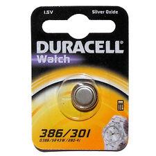 1 X Duracell 386 D386 Sr43w 280-41 Watch Battery