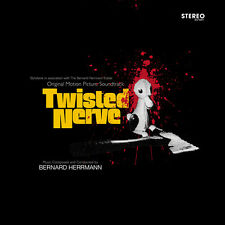 Twisted Nerve - Blood Spatter Vinyl + CD + EP- Limited Edition -Bernard Herrmann