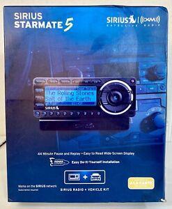 Sirius Starmate 5 Satellite Radio Receiver & Vehicle Kit SDST5V1 XM Easy Install