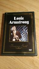 Louis Armstrong - Forever Gold (DVD, 2003) 10 TRACKS / Hello Dolly / When Saints