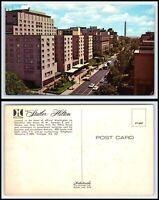 WASHINGTON DC Postcard - Statler Hilton Hotel L1