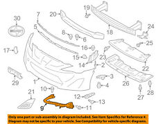 Scion TOYOTA OEM 13-16 FR-S Front Bumper-Corner Support Right SU00307155