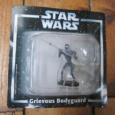 Grievous Bodyguard Star Wars Deagostini Die Cast Metal Figure On Card