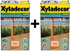 Xyladecor Douglasienöl 2 x 5 l Douglasien-Öl 10 Liter absolute NEUWARE TOP WOW