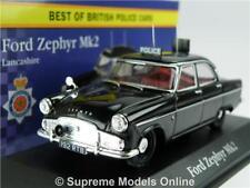 FORD ZEPHYR MK2 MODEL CAR POLICE LANCASHIRE 1:43 SCALE CORGI VANGUARDS ATLAS K8