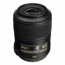 NEW Nikon AF-S DX Micro Nikkor 85mm f/3.5G ED VR Lens for Nikon DX BUNDLE! USA