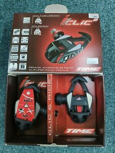 Time Iclic2 Carbon super light Clipless pedals with cleats and original box