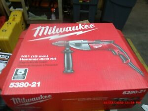 "Milwaukee 5380-21 1/2"" Hammer Drill with Carrying Case (New)"