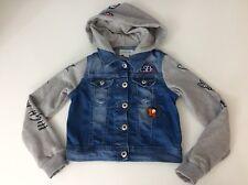Chicas del dril de algodón chaqueta de abrigo Diesel,, Talla 7 años de edad, azul y gris, en muy buena condición